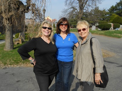 Green-Wood Cemetery - April 2013 w/ tour guides extraordinaire Marge & Ruth
