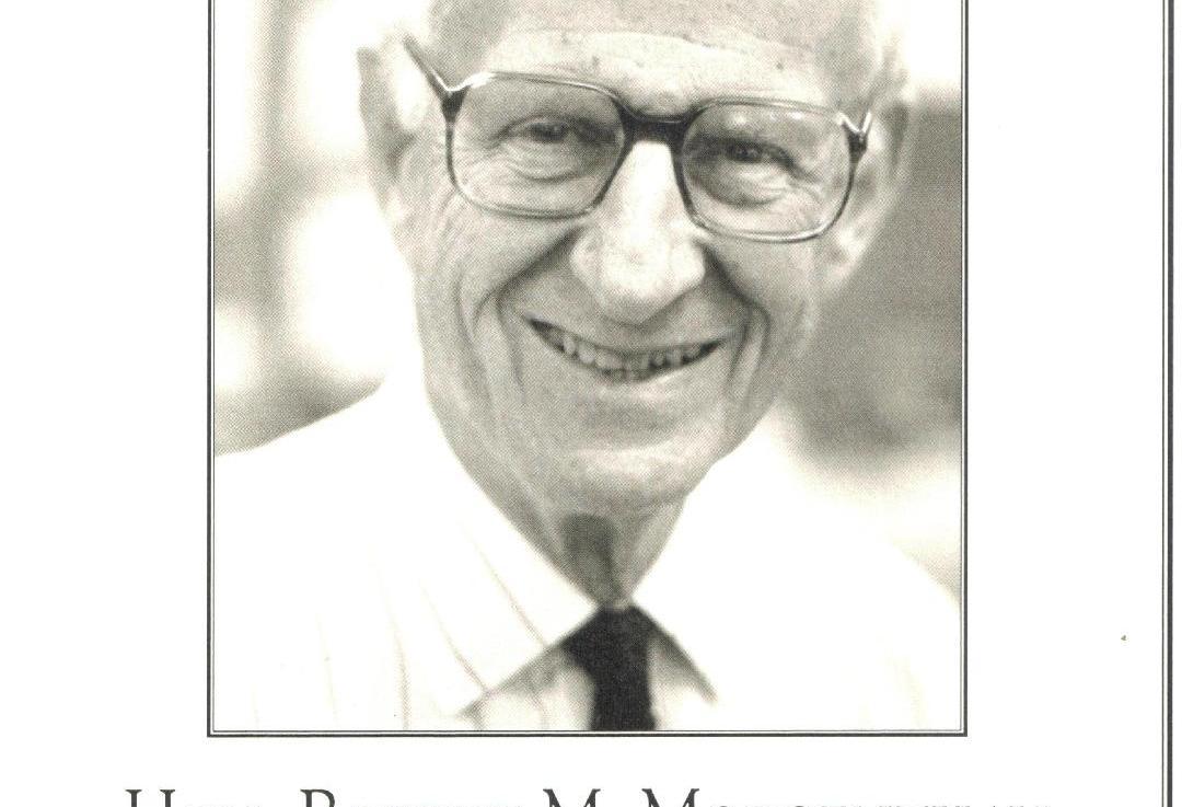 RIP Robert Morgenthau